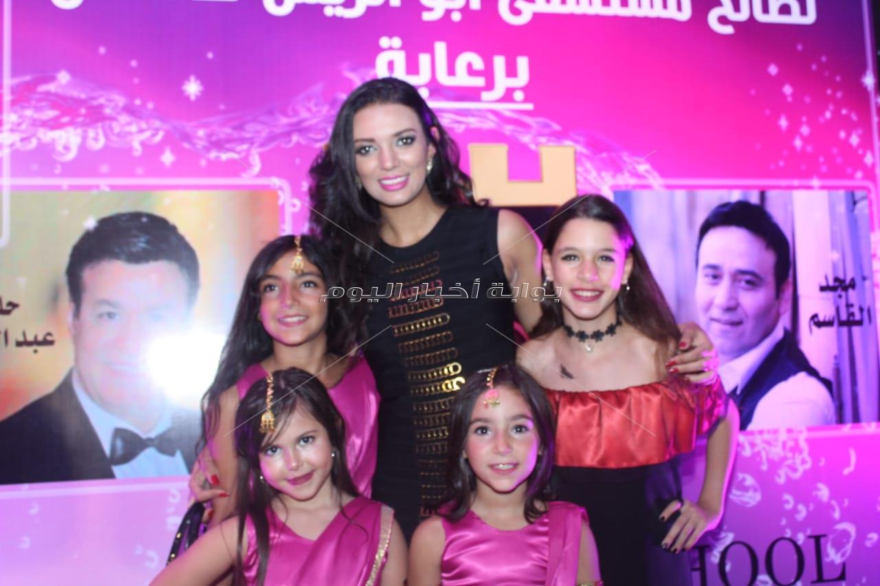 مجد القاسم وجمعة ويورا محمد يدعمون أطفال أبو الريش