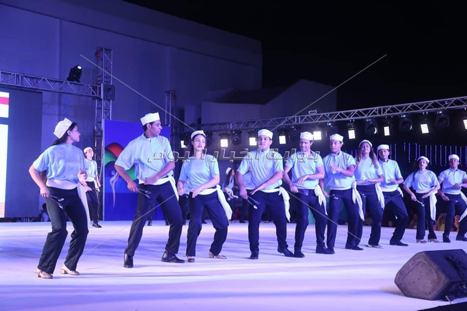 العالم يرقص على أنغام السمسمية فى مهرجان الاسماعيلية للفنون الشعبية