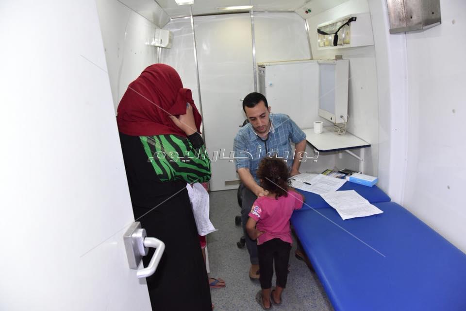 تقديم الخدمة الطبية مجانا لـ 3 ألاف مواطن في قافلة البساتين