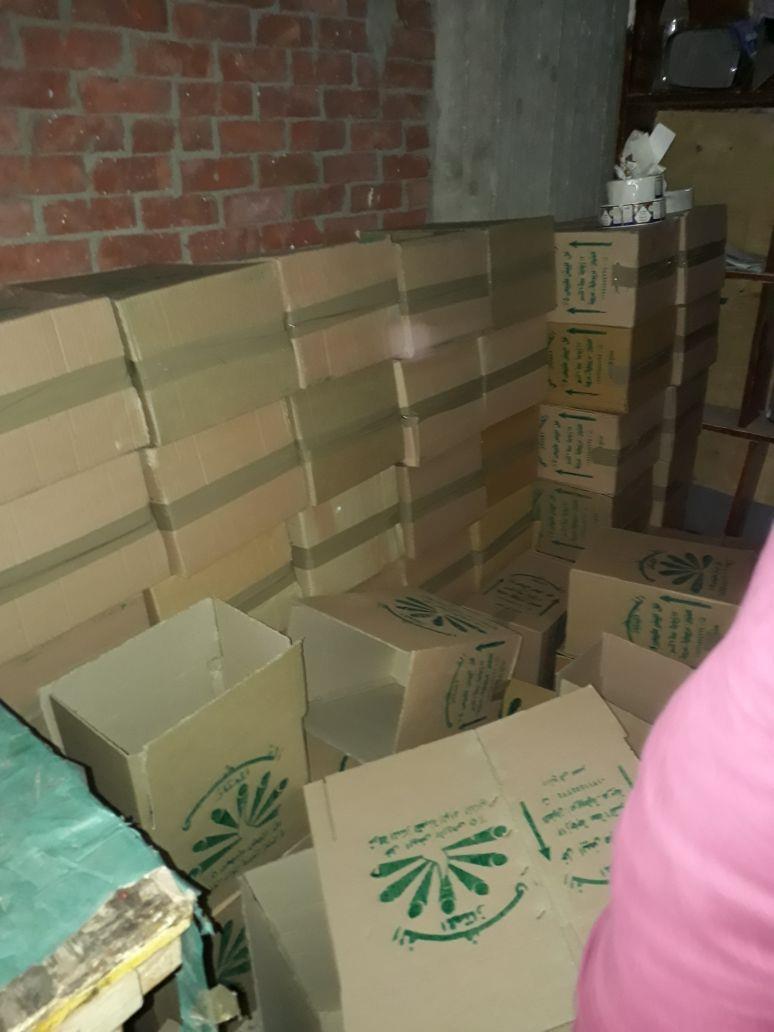 ضبط مصنع خل صناعي فاسد بالعمرانية