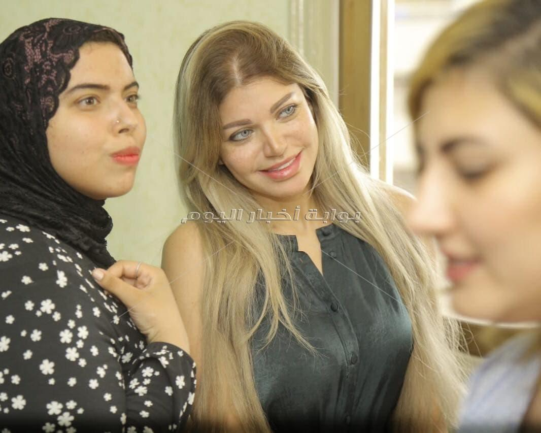 ياسمين الخطيب تشارك في مبادرة «هاخد حقي».. وتدعم النساء ضد المتحرشين