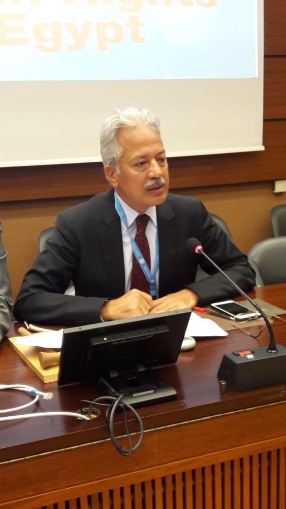 المنظمة المصرية لحقوق الإنسان تعقد ندوتها الثانية بمقر الأمم المتحدة بجنيف