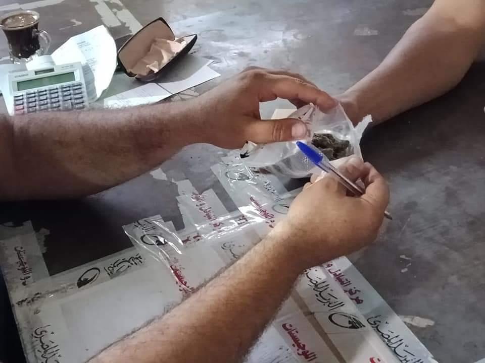 جمارك الطرود البريدية تضبط تهريب كمية من مخدر الماريجوانا