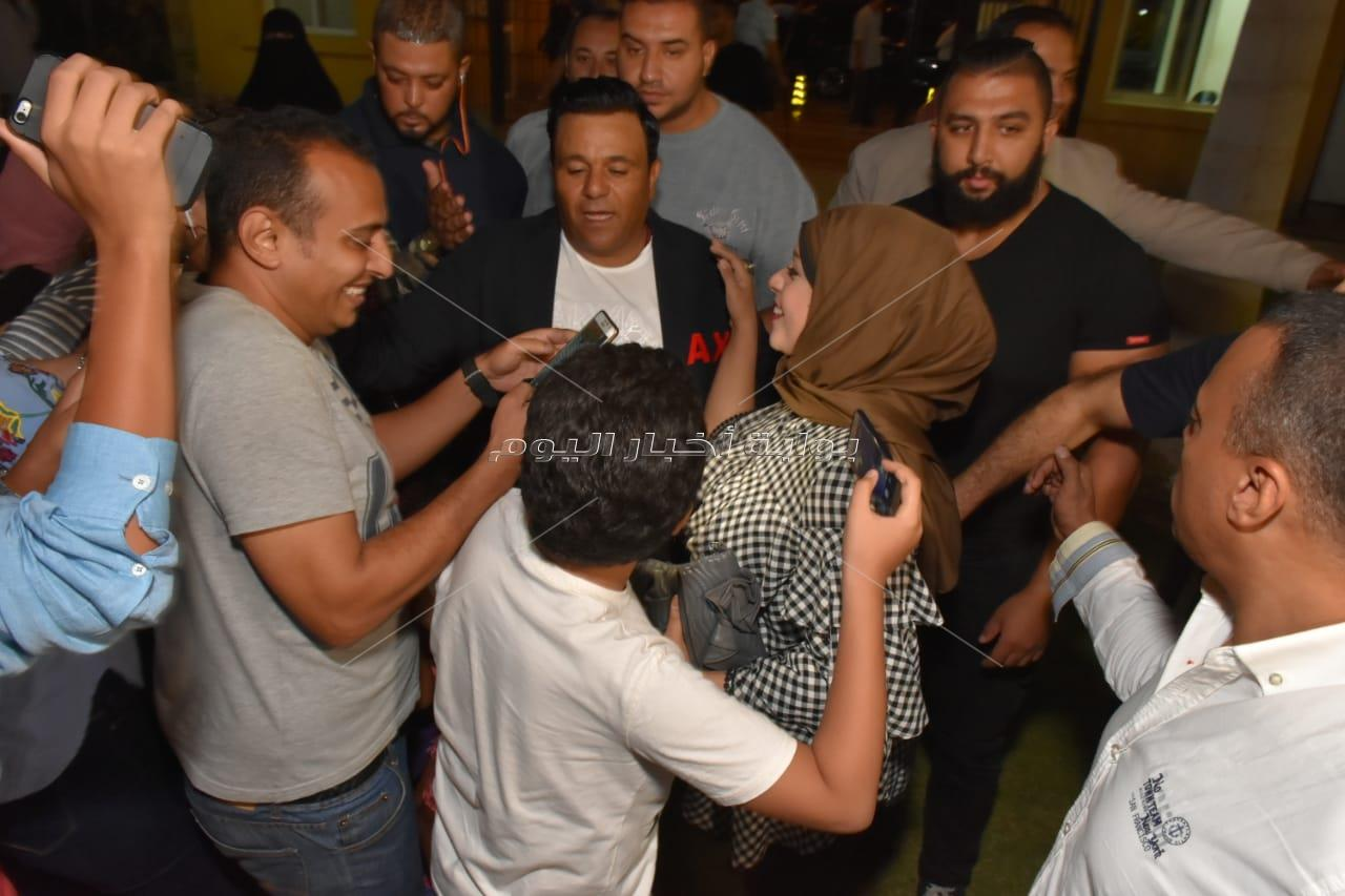 محمد فؤاد وكارمن سليمان في الرحاب