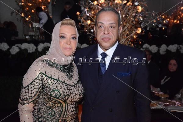 35 صورة لعمرو دياب من زفاف «محمد وهيا»