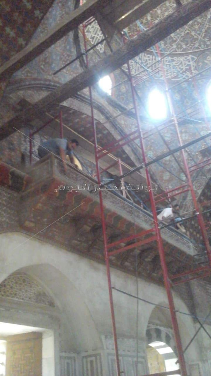 ترميم مسجد سارية الجبل بقلعة صلاح الدين