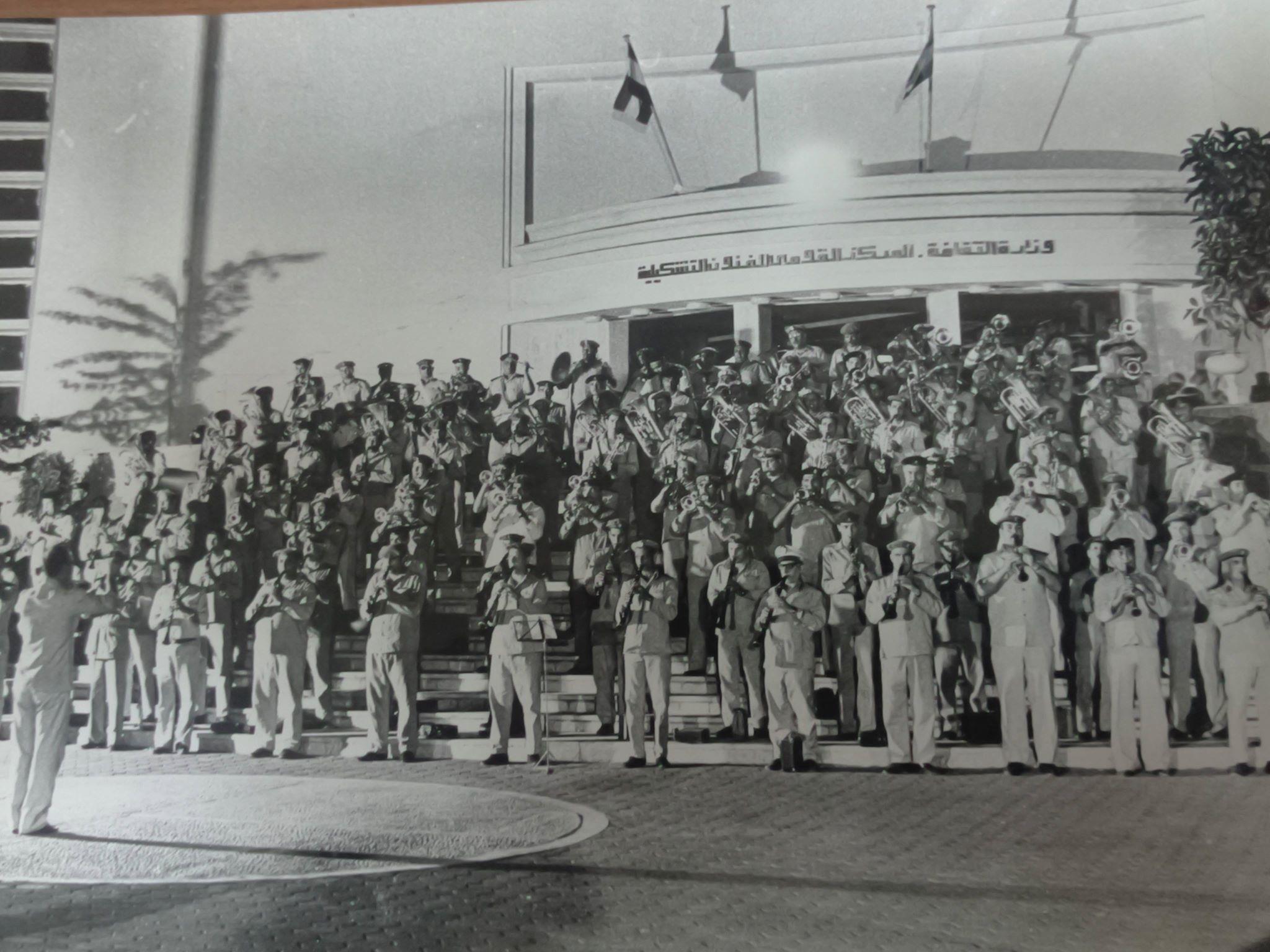 صور نادرة لافتتاح دار الأوبرا المصرية 1988