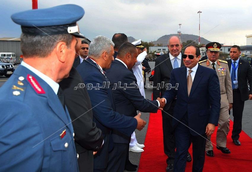 مغادرة الرئيس السيسي لجزيرة كريت بعد القمة المصرية القبرصية اليونانية