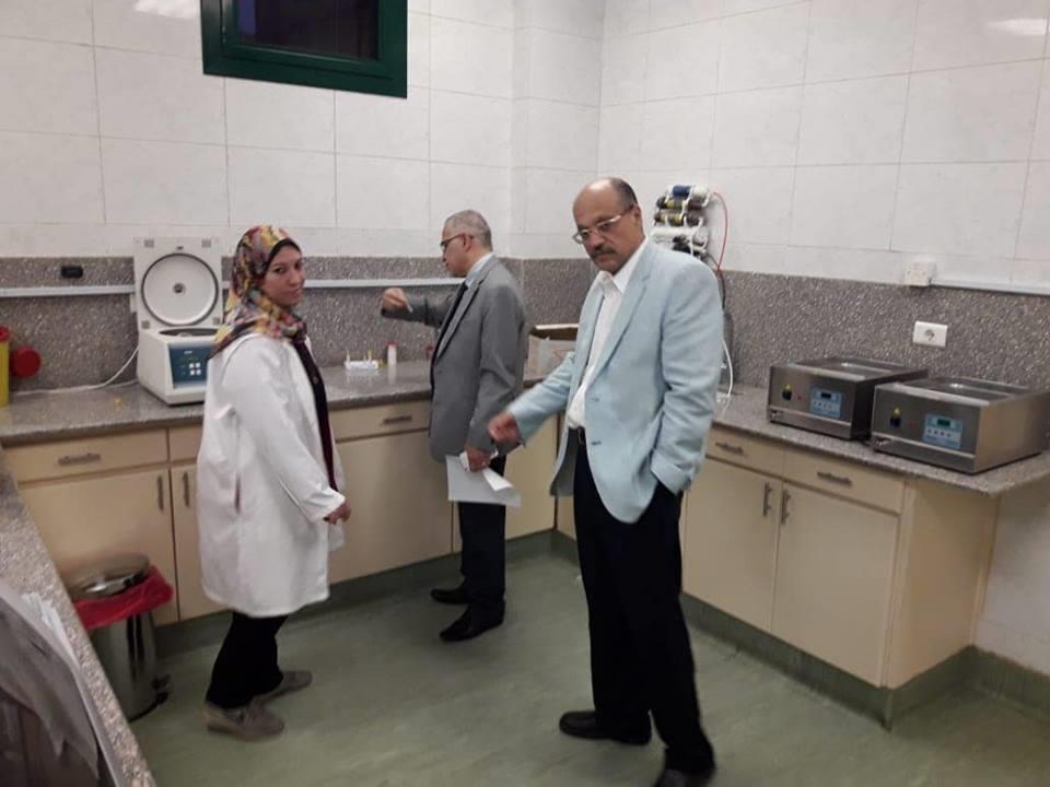 زيارة مفاجئة للدكتور طارق سلمان لمستشفى جامعة الأزهر التخصصي