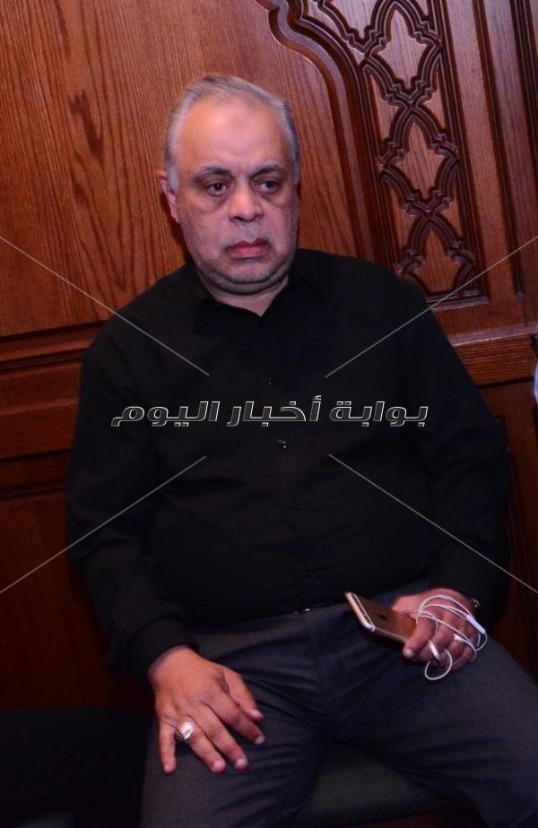 نجوم الفن في عزاء أحمد عبد الوارث
