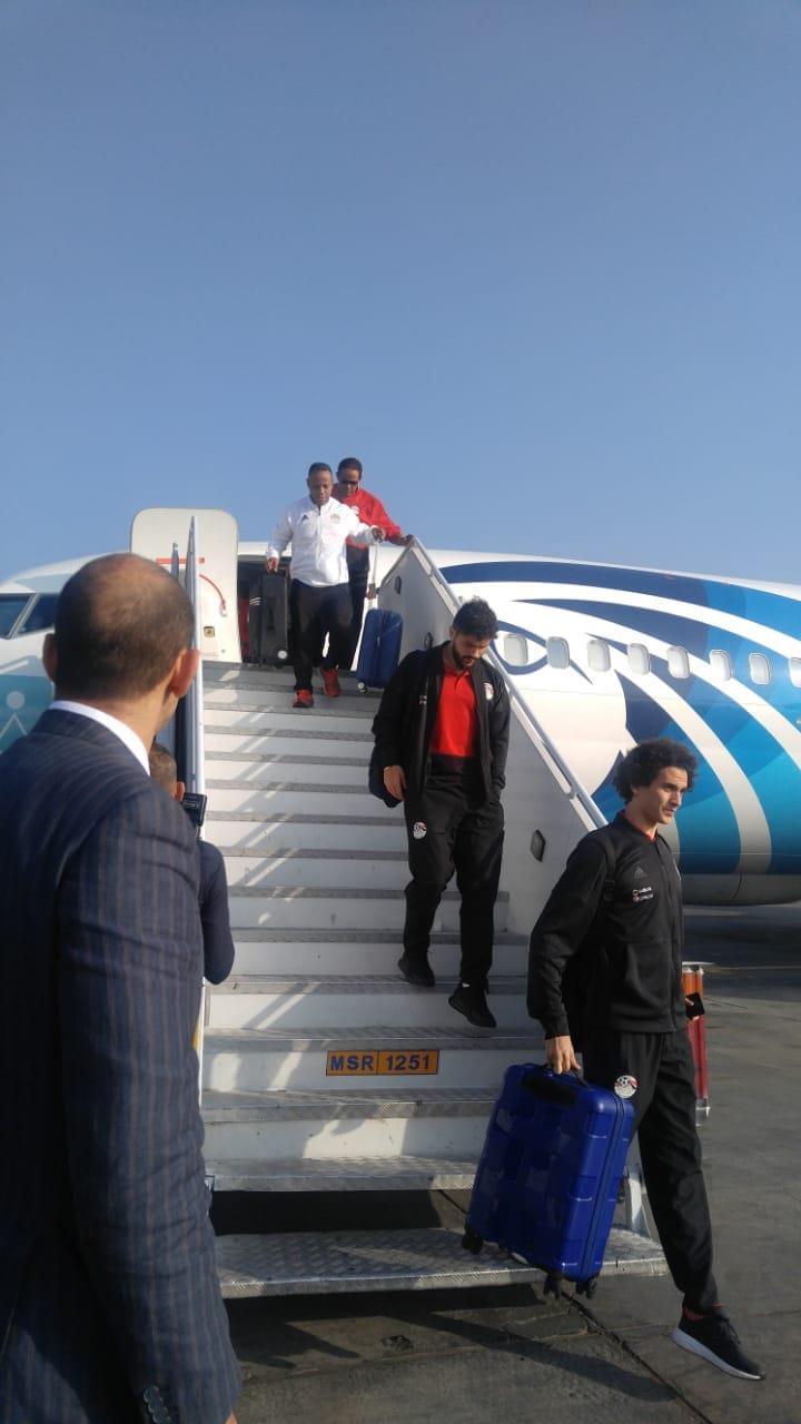 منتخب مصر يصل إلى القاهرة