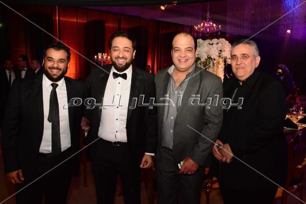 نجوم الفن يحتفلون بزفاف شيماء سيف