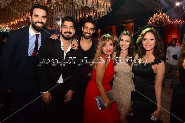 الصور الكاملة لحفل زفاف الفنانة شيماء سيف