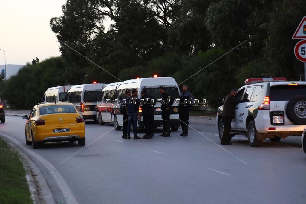 غلق شوارع رادس تمهيدا لتحرك موكب الأهلي