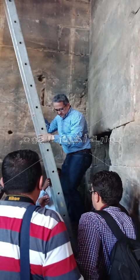 وزيري يعلن عن إقامة ?خر تمثال رمسيس أمام معبد الكرنك ابريل المقبل