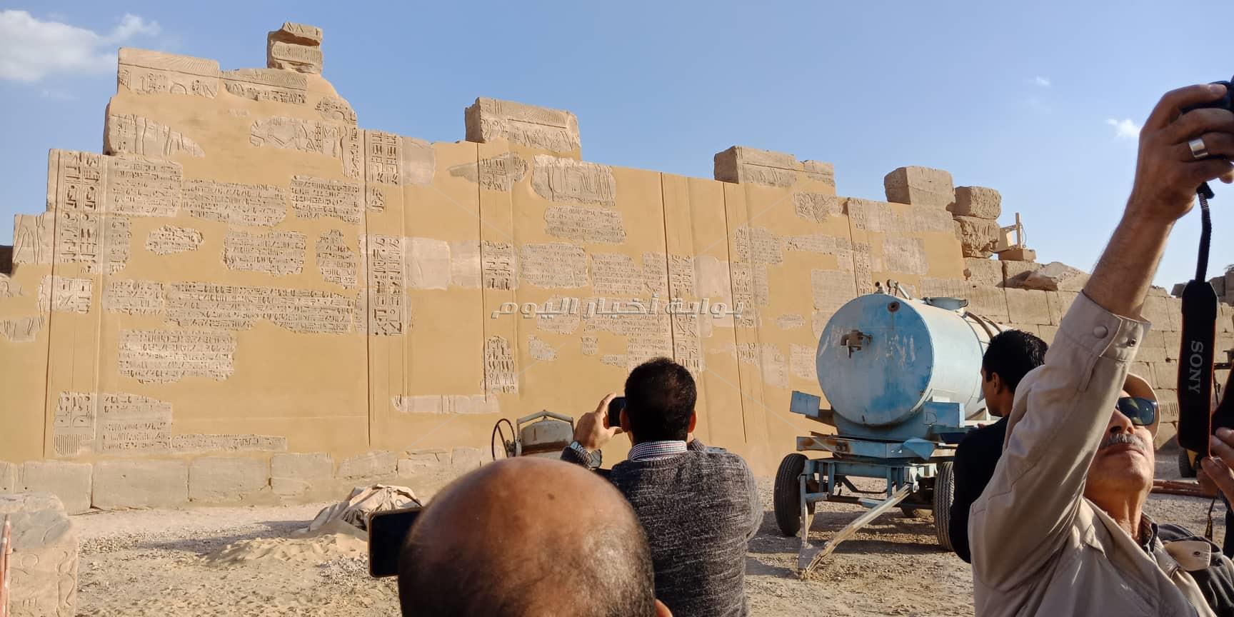 تطوير معبد الكرنك