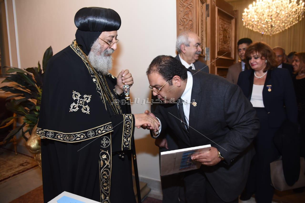 البابا تواضروس ضيف أندية الروتاري المصرية
