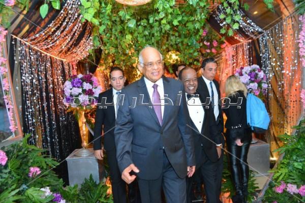 بحضور رئيس مجلس النواب.. تامر حسني والليثي وجوهرة في زفاف «عماد وديان»