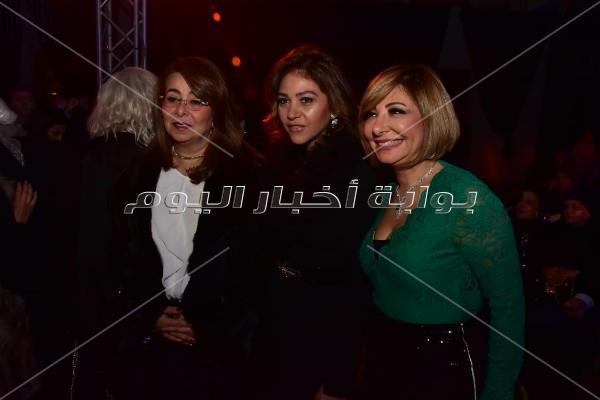نجمات الفن في ديفليه هاني البحيري لفساتين 2019