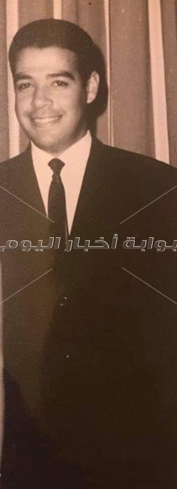 صور نادرة من حياة «الأستاذ» إبراهيم سعدة