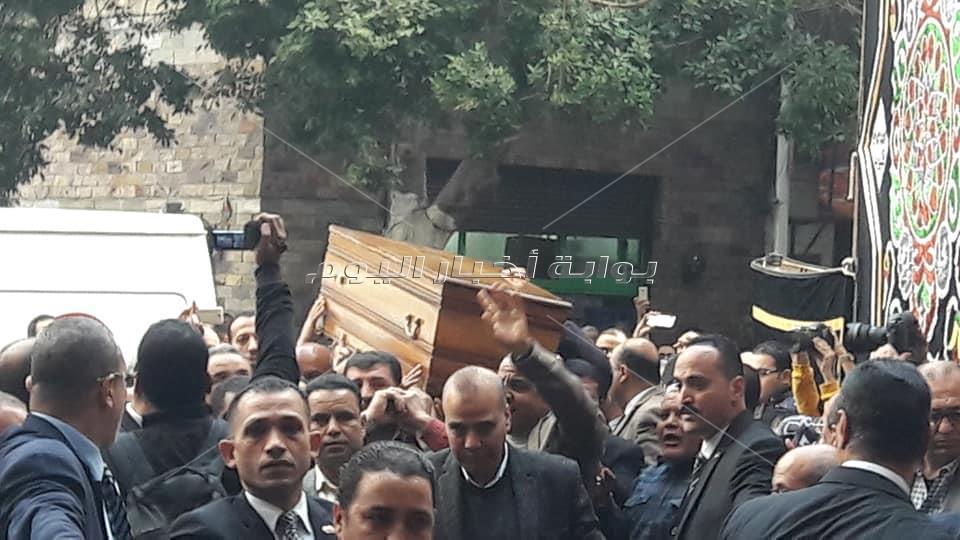 جنازة إبراهيم سعدة