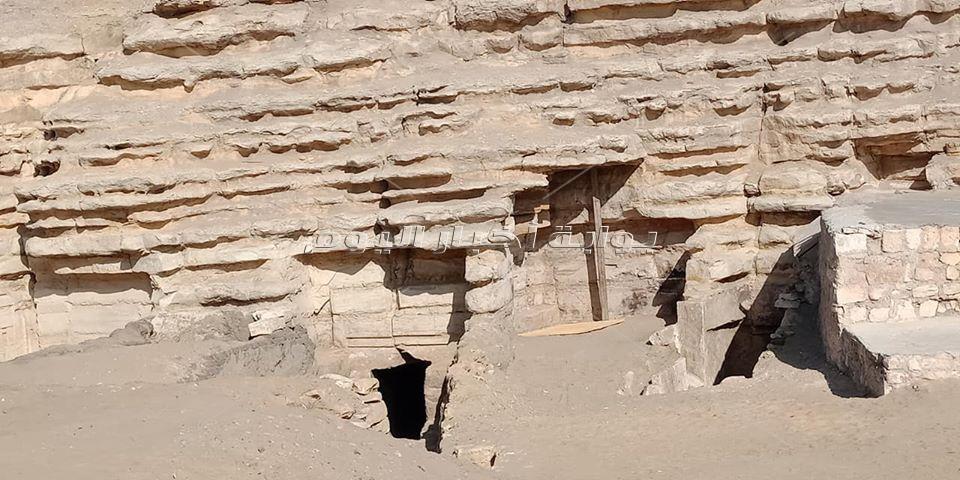 الصور الأولى للكشف الأثري الجديد بجبانة سقارة قبل افتتاحها