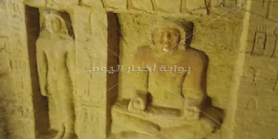الصور الأولى لمقبرة كاخن التطهير الملكي بجبانة سقارة
