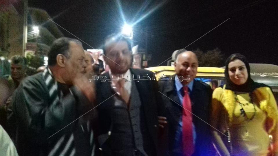 """مستقبل وطن بالغربية  يقود مسيرة شعبية لدعم """"نصير"""" بشوارع زفتي"""