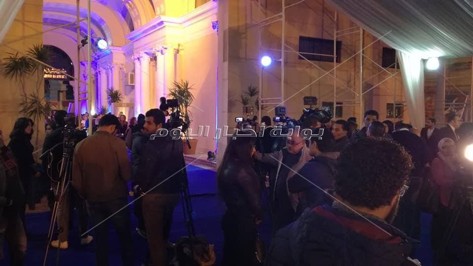 أنطلاق فعاليات مهرجان الإسكندرية الدولي للأغنية بحضور وزيرة الثقافة والقنصل السعودي