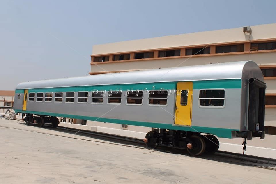 إعادة تأهيل 90 عربة قطارات مكيفة و200 عادية