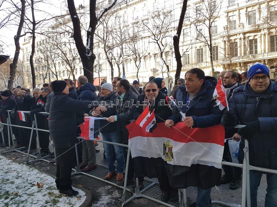الجالية المصرية بالنمسا