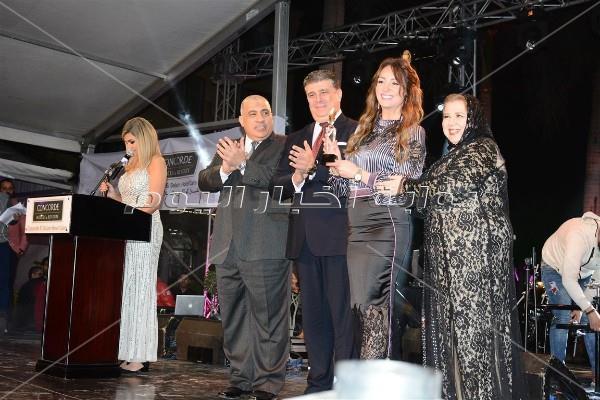 تكريم نجوم الفن في حفل «نايل دراما»