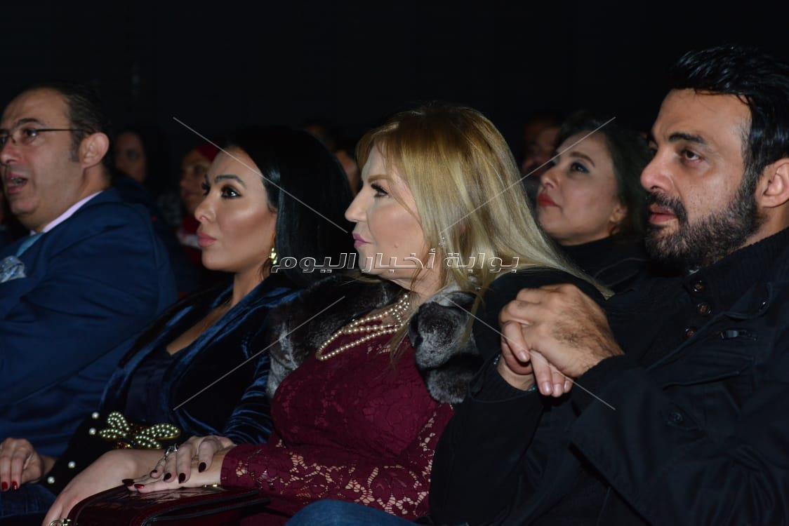 تكريم ميرهان حسين وراندا البحيري وداليا مصطفى بـ«الهناجر»