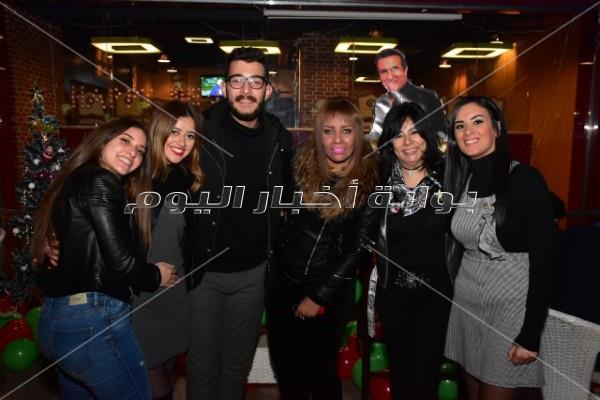 أشرف زكي وشيرين يحتفلان بعيد ميلاد طارق دسوقي