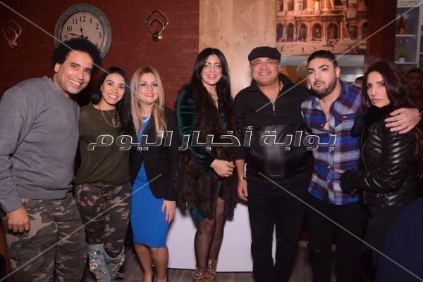 حفل كارين نوالي بالتجمع بحضور حميد الشاعري