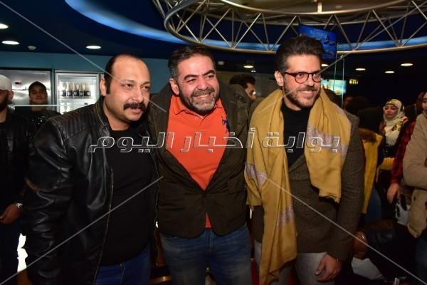 أبطال «ساعة رضا» يحتفلون بعرض الفيلم
