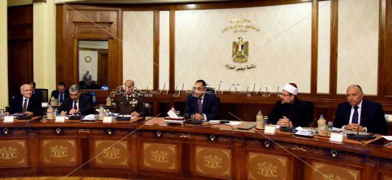 رئيس الوزراء يترأس اجتماع الحكومة الأسبوعي _ تصوير: أشرف شحاتة