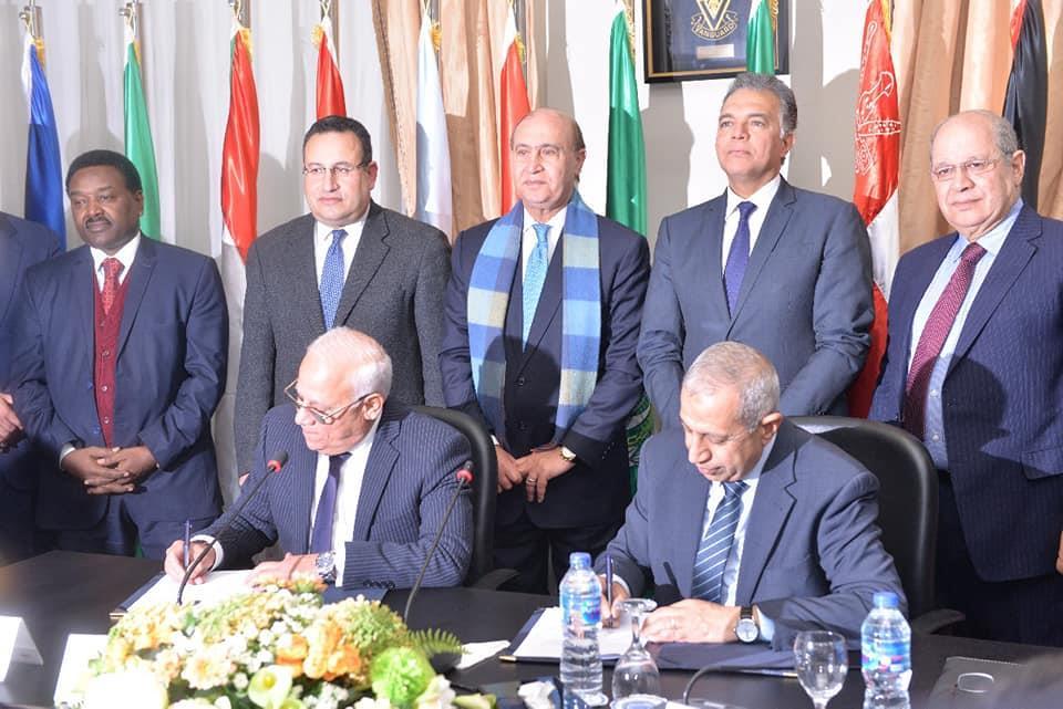 بالصور.. تجديد حق انتفاع فرع الأكاديمية في بورسعيد لمدة 25 عاما