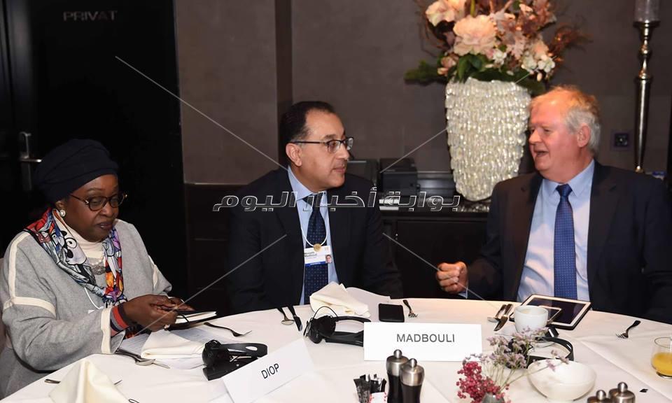 رئيس الوزراء يشارك في ندوة حول إفريقيا بمنتدى دافوس الاقتصادي