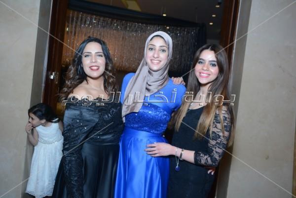 الخطيب وحواس وفاروق حسني في زفاف «مصطفى ونوران».. وحجاج يُحيي الحفل