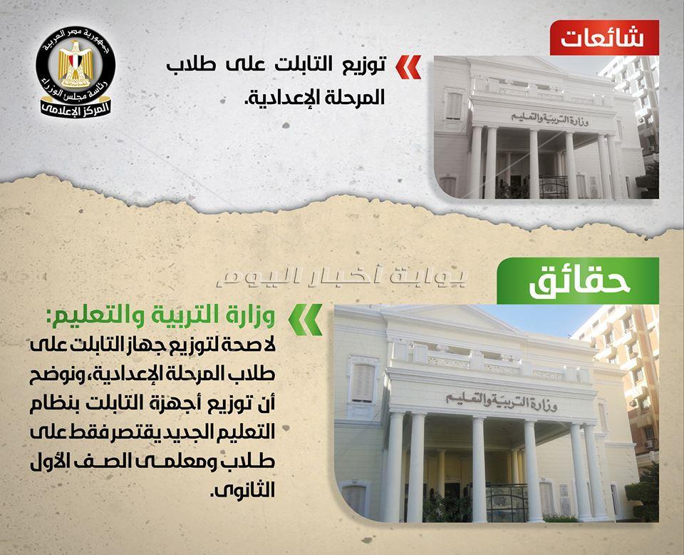 11 شائعة أمام الحكومة أبرزها صداع «التابلت والثانوية العامة»