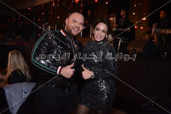 60 صورة- حماقي ومايا دياب في أقوى حفلات عيد الحب 2019