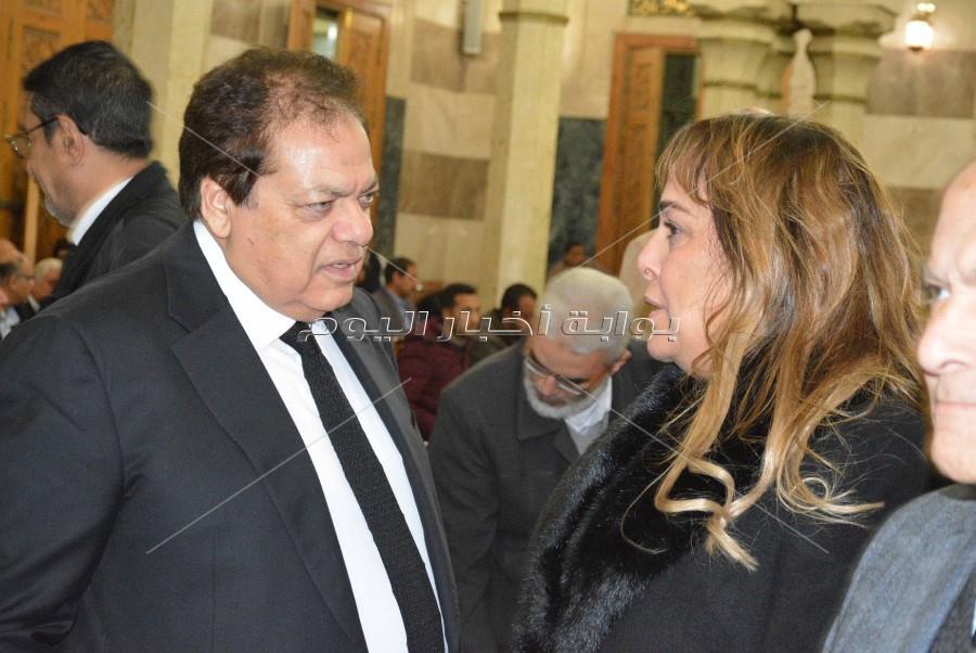 عزاء والدة الهام أبو الفتح _ تصوير: أحمد حنفي