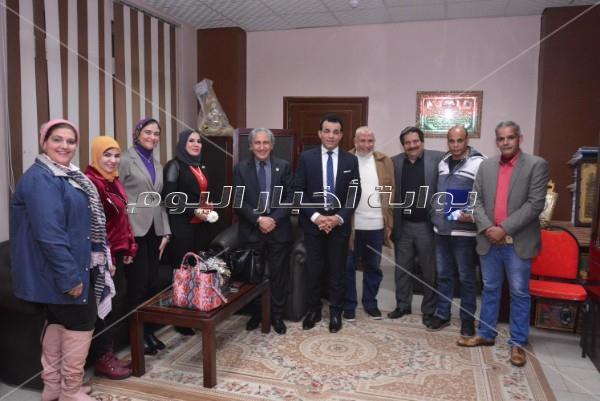 تكريم محمد صبحي في مهرجان «800 سنة منصورة»