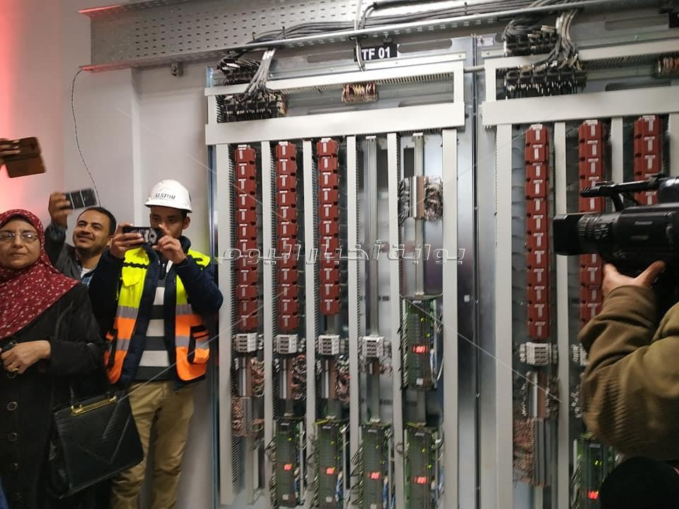 افتتاح برج إشارات مغاغة السكة الحديد انجاز جديد في مجال السكك الحديد
