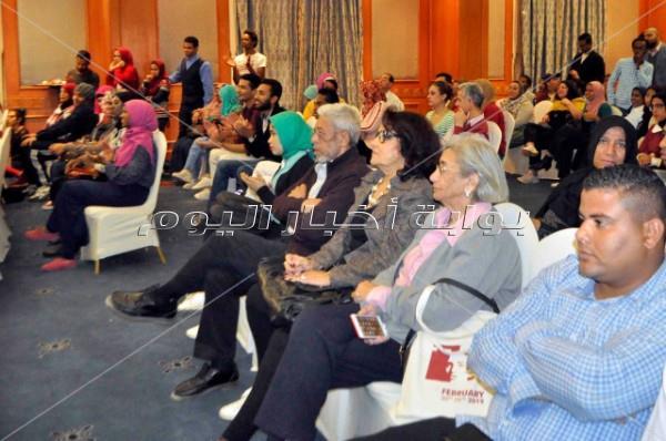 حضور كثيف للجمهور في ختام ورش مهرجان أسوان الدولي لأفلام المرأة
