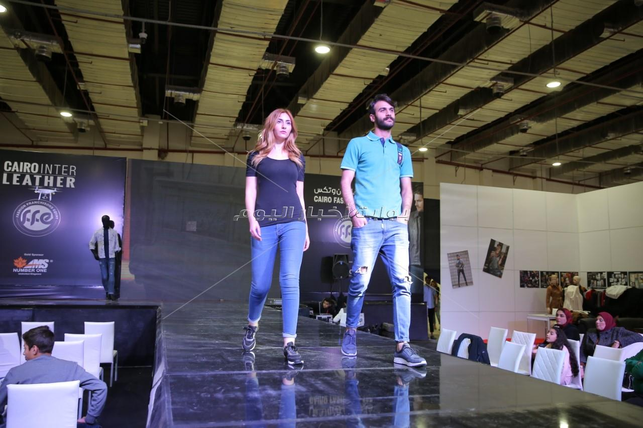 هيثم سعيد في عرض أزياء كايرو فاشون وتكس