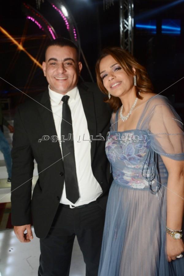 تامر حسني يحتفل بزفاف «أحمد وهاجر»