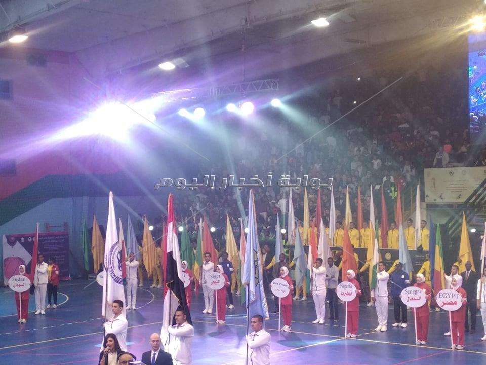 حفل اللأولمبياد الإفريقية