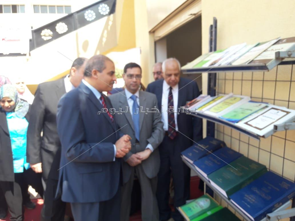 معرض الكتاب في جامعة الأزهر
